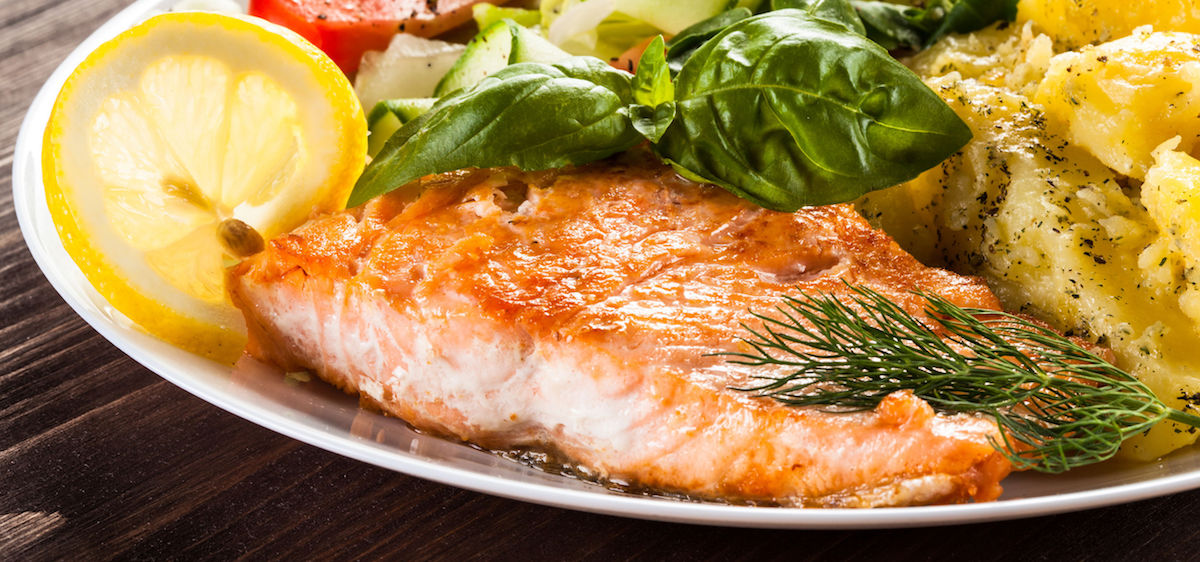 Heart Healthy Month Salmon Good Fats