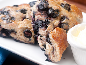 Secret Weapon Blueberry Scones