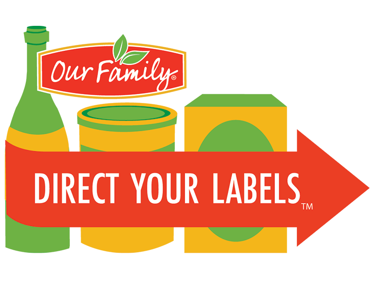 Our Family Direct Your Labels program