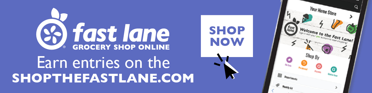 Buy participating items on shopthefastlane.com
