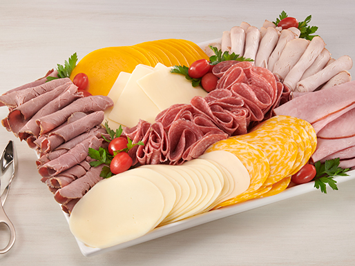 Executive Meat and Cheese Platter from the Deli at D&W Fresh Market
