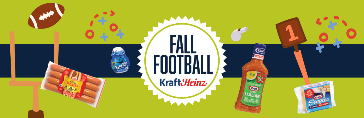Fall Football Promotions and Recipes