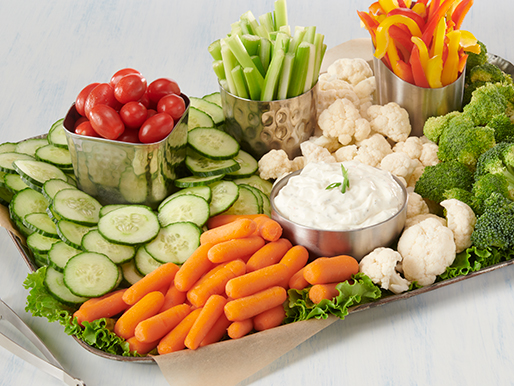 Garden Veggie Platter from the Deli at D&W Fresh Market