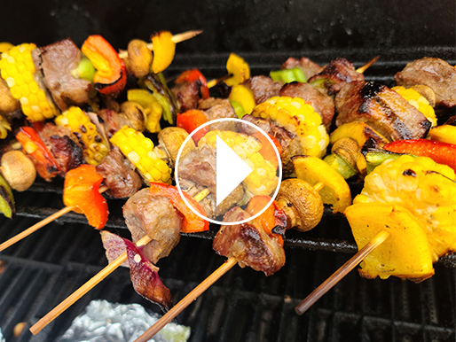Recipe for Grilled Tri-Tip Kabobs