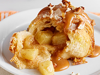 Caramel apple bomb dessert recipe