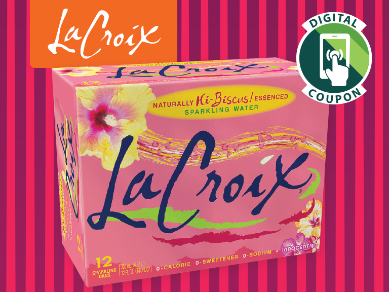 Put a little sparkle in your hydration with La Croix's new Hi-Biscus flavor.