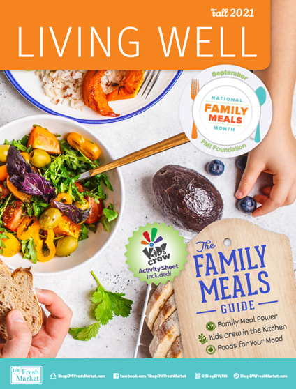 Living Well Magazine Cover Fall 2021