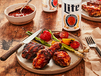 Miller Lite Brined Chicken