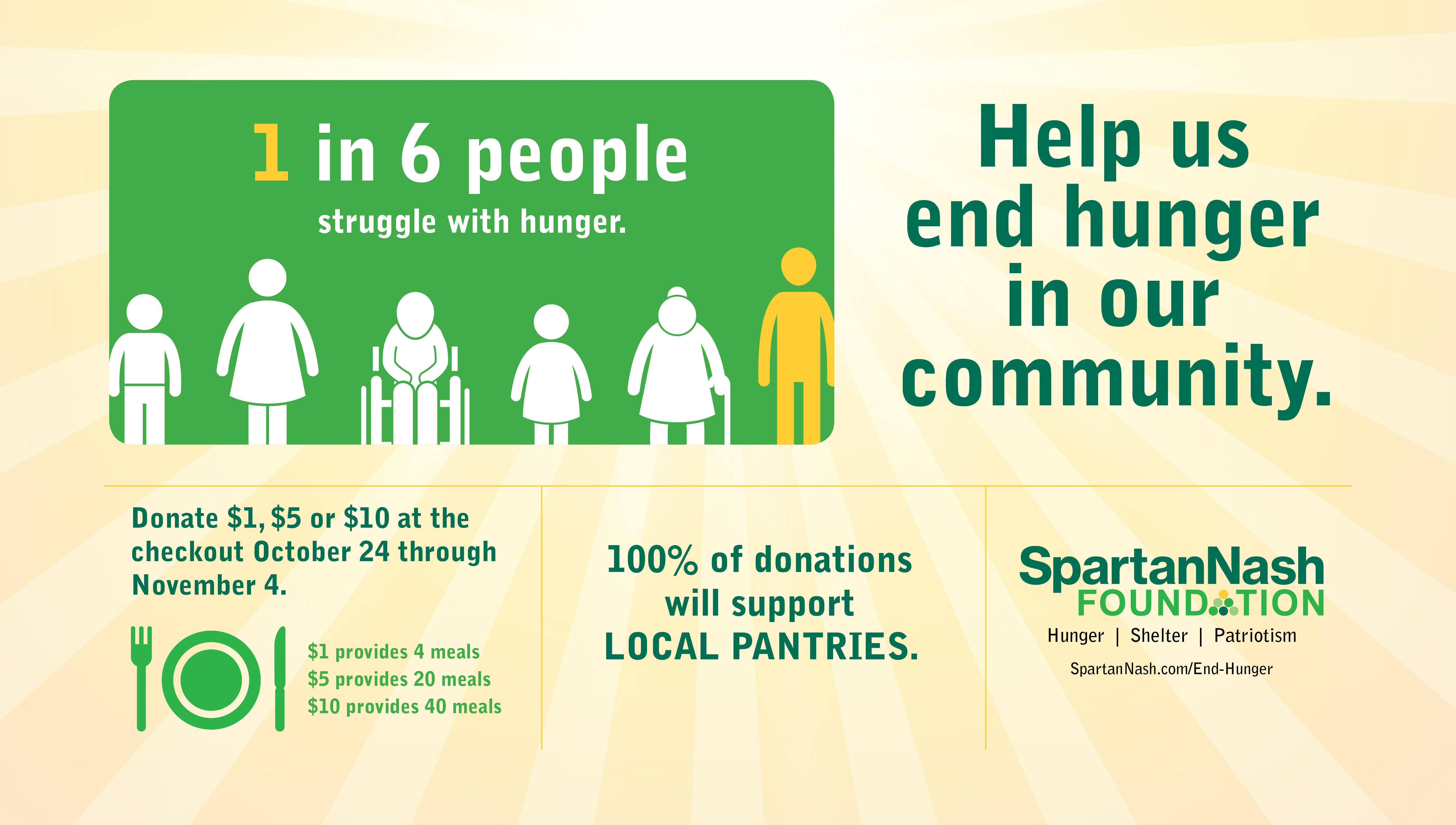 SpartanNash Foundation fight against hunger