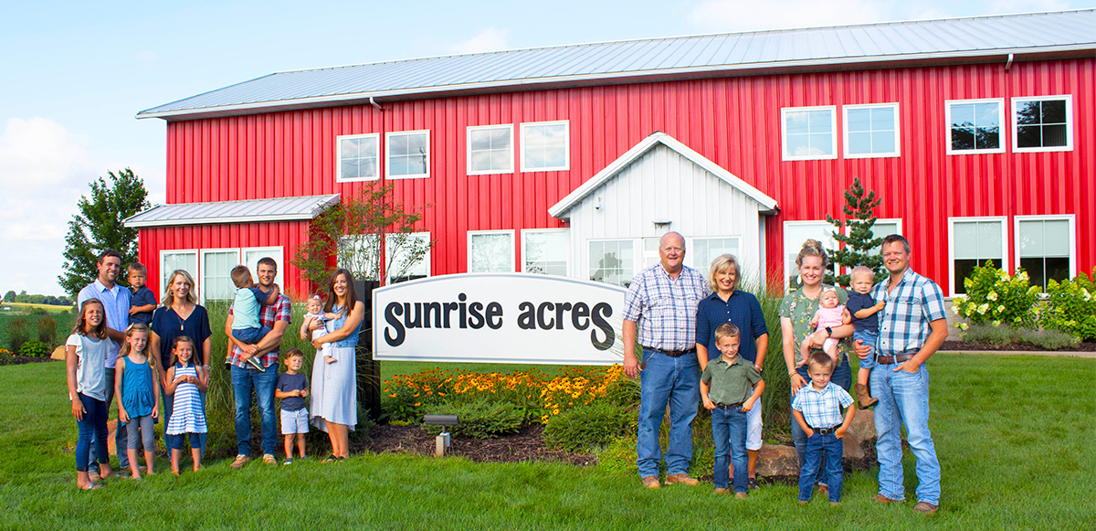 Sunrise Acres Farm and Family from Hudsonville, MI