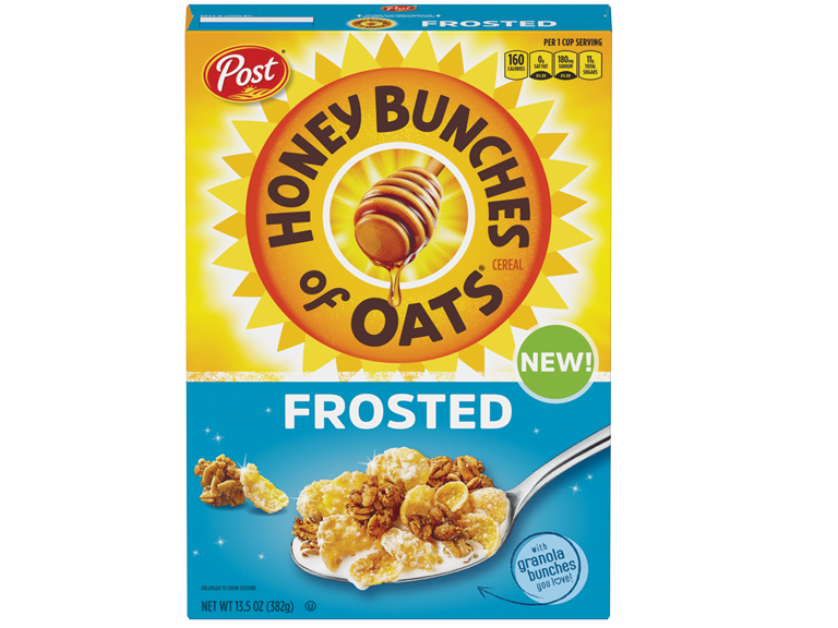 Box of Honey Bunches of Oats Frosted
