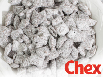chex mix muddy buddies dessert