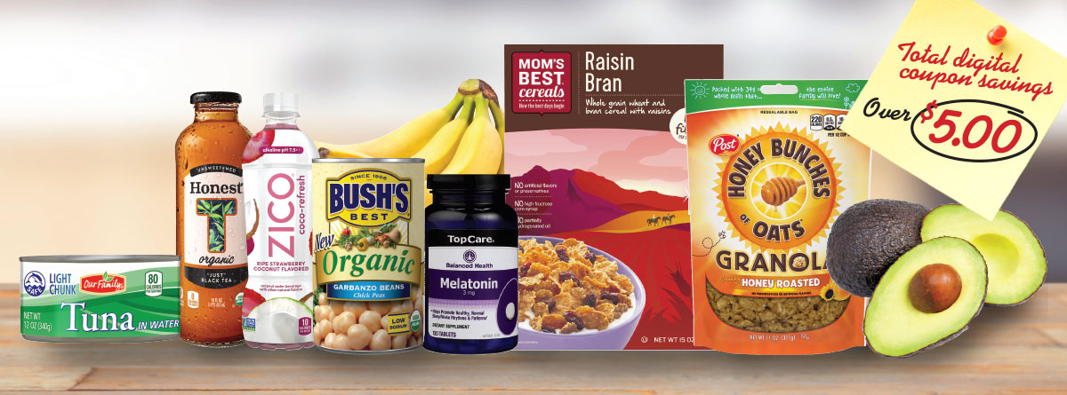 Healthy food choices from your favorite brands