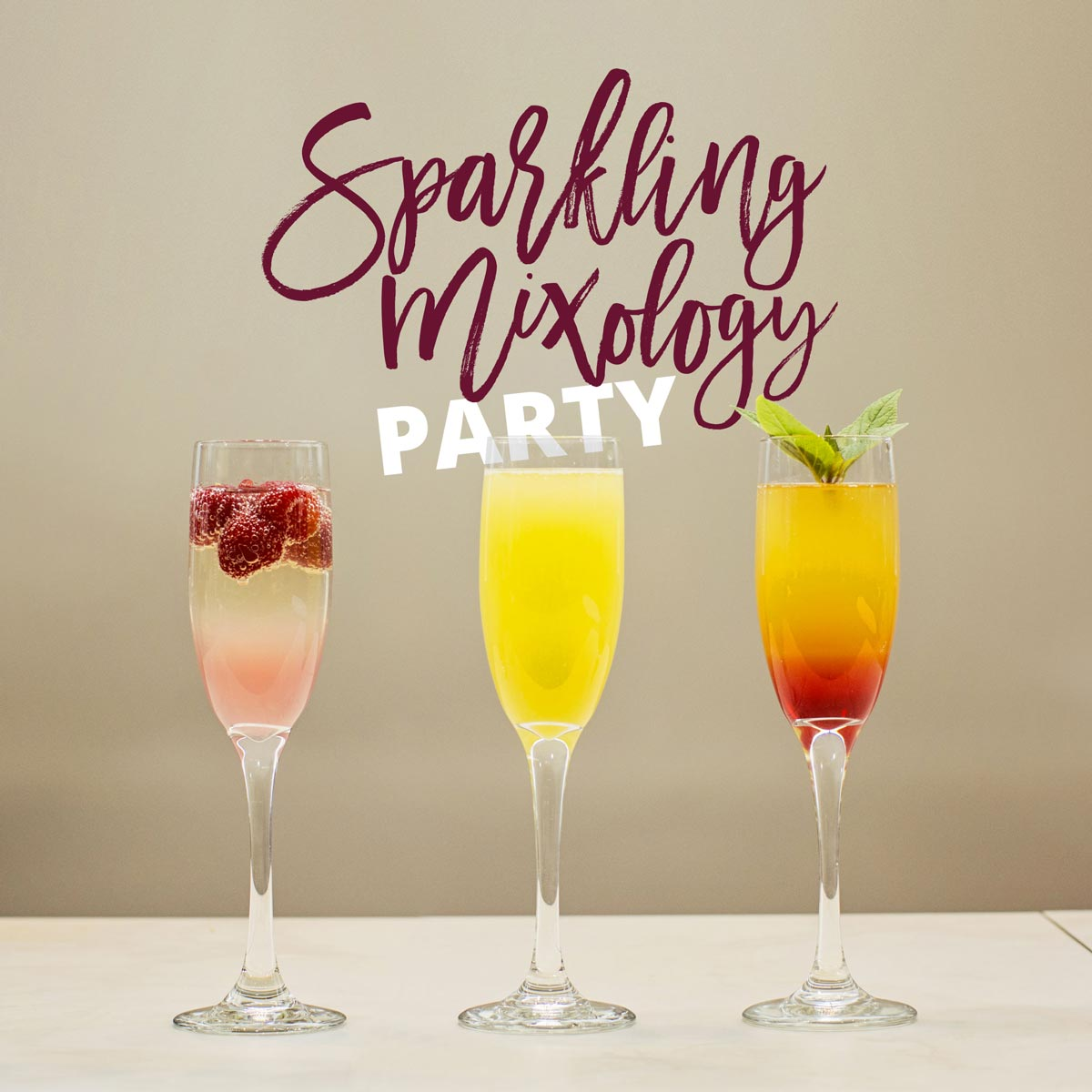 Sparkling Wine Party
