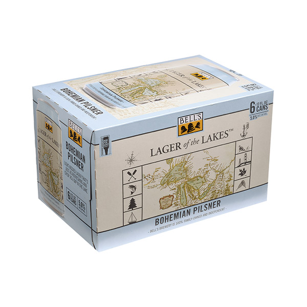 Bells Lager of the Lakes 6pk can