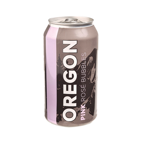 Canned Oregon Pink Bubbles Willamette 12.7oz can
