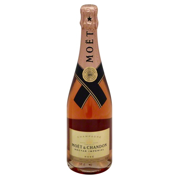 Moet Nectar Rose Champagne