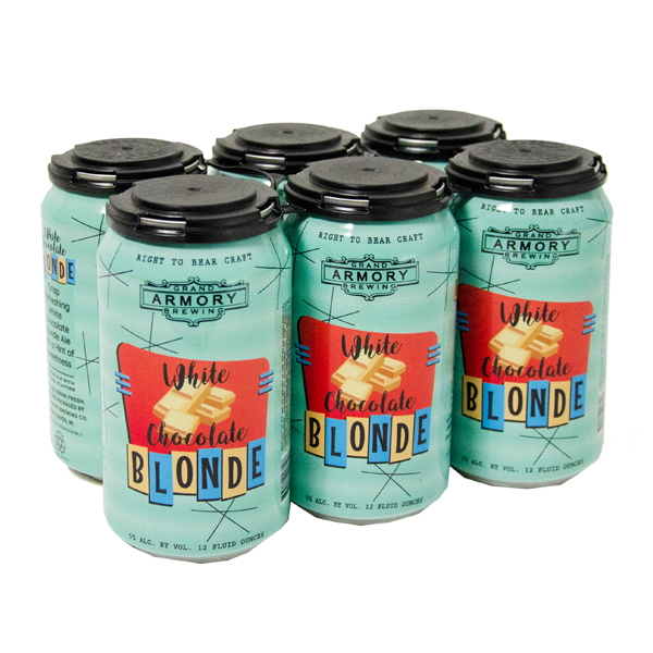 Grand Armory White Chocolate Blonde 6pk can By The Case!