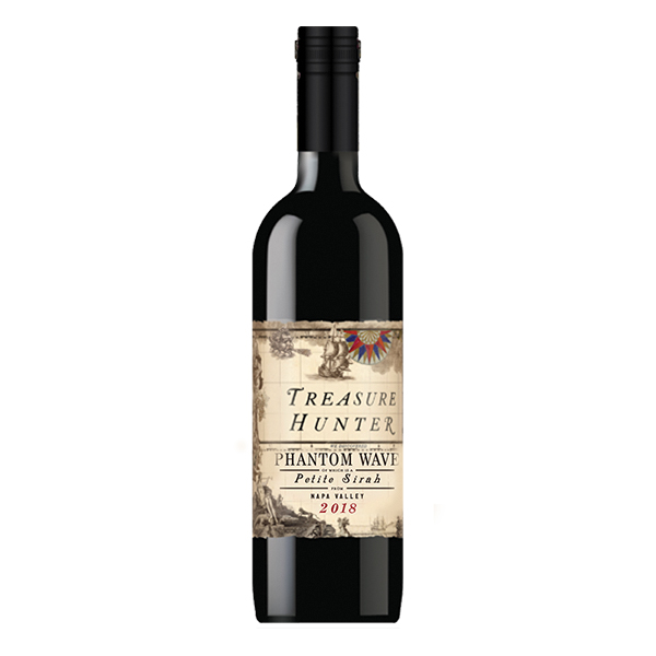 Treasure Hunter 'Phantom Wave' Petite Sirah