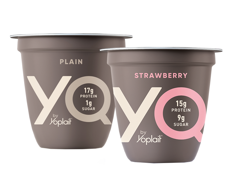 YQ is a smarter yogurt choice packed with 15 grams of protein and all the creamy goodness.